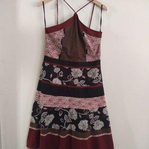 BCBG MAXAZERIA dress Bandana Summer Dress Style Sz